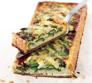 Image for Asparagus & Cheese Tart